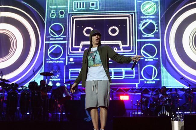 Eminem at Lollapalooza
