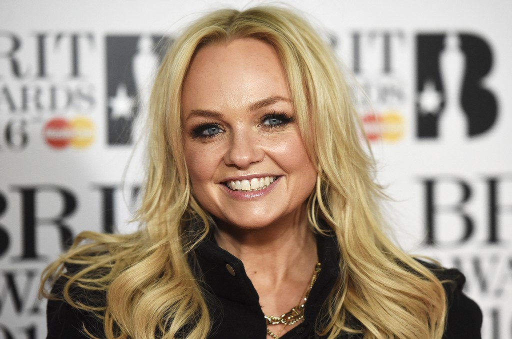 Emma Bunton attends the BRIT Awards 2016 at The O2 Arena on FEb. 24, 2016 in London.
