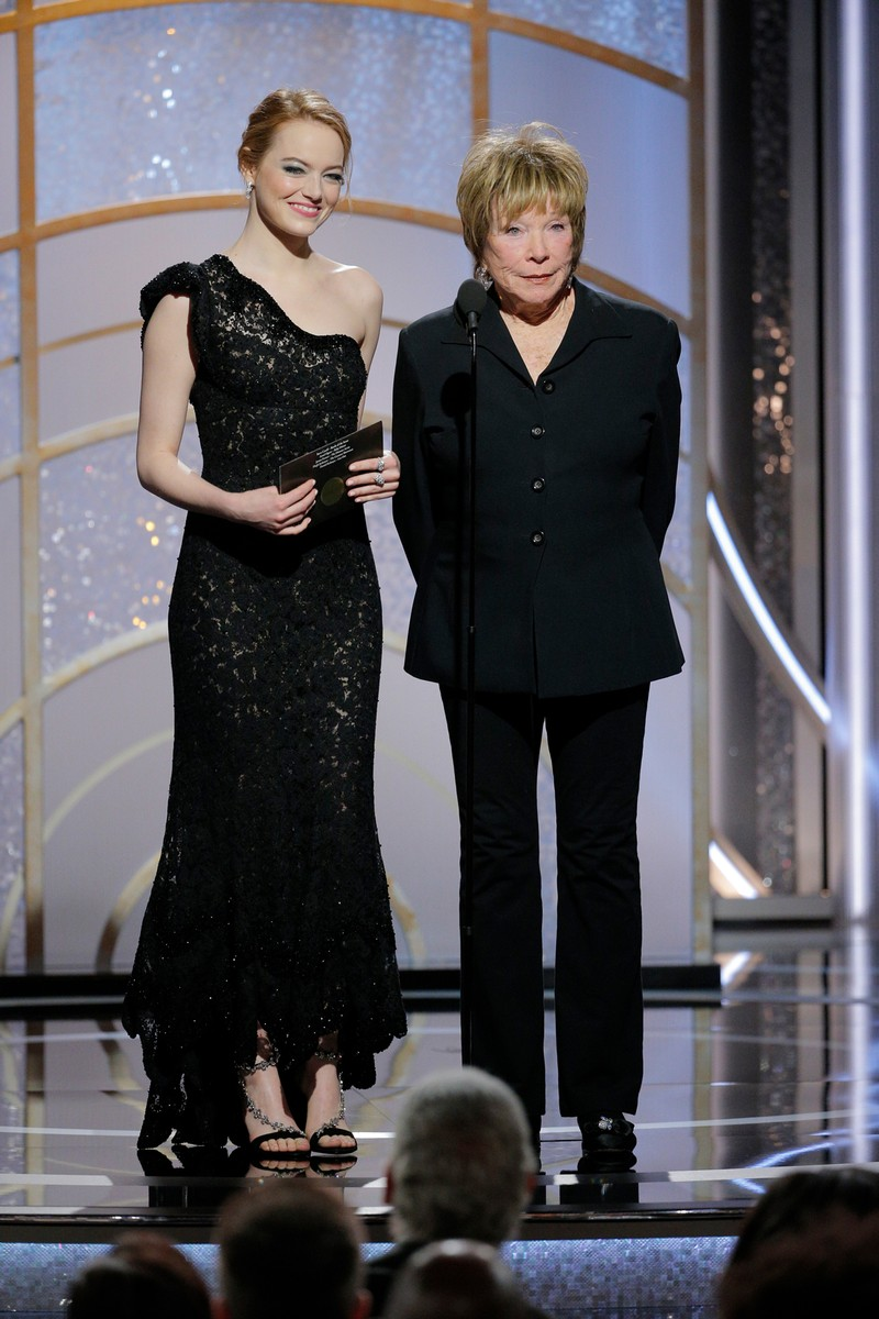 Emma Stone & Shirley MacLaine, 2018