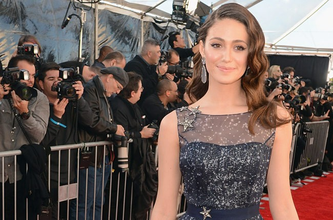Emmy Rossum at the Critics' Choice Movie Awards