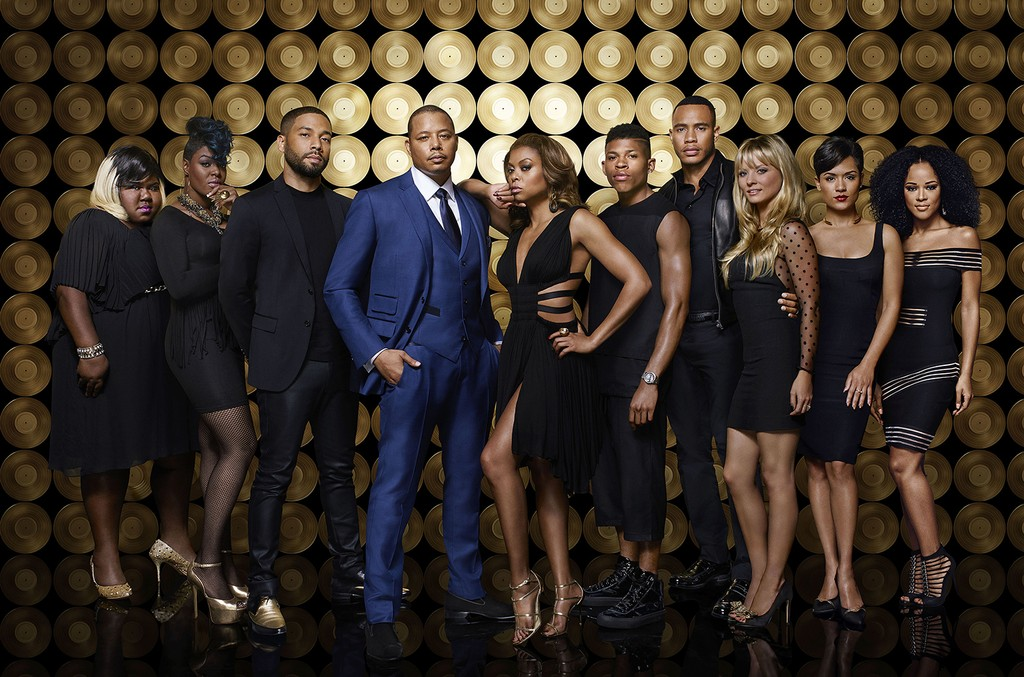 The cast of Empire.