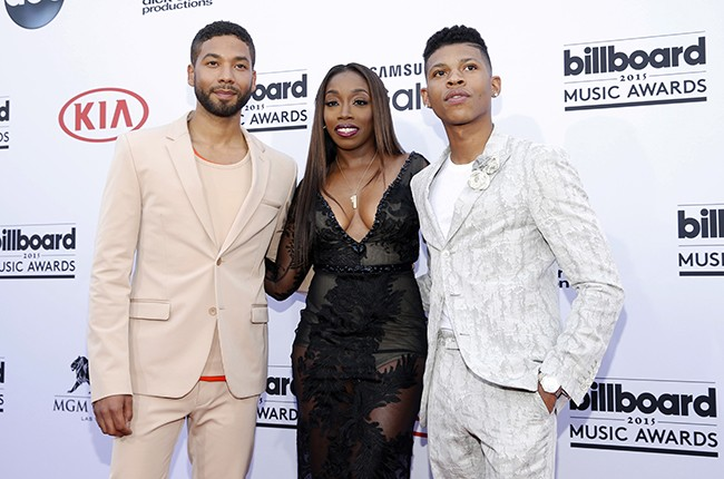 Jussie Smollett, Estelle and Bryshere Y. Gray
