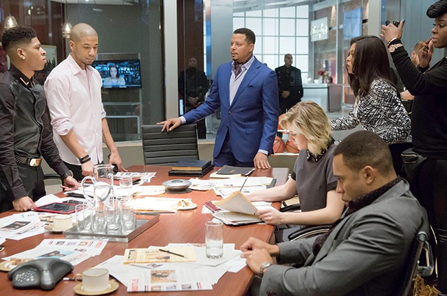 "The family rallies to save Empire Ent. in the ""Unto the Breach"" episode of Empire airing Wednesday, March 4, 2015."