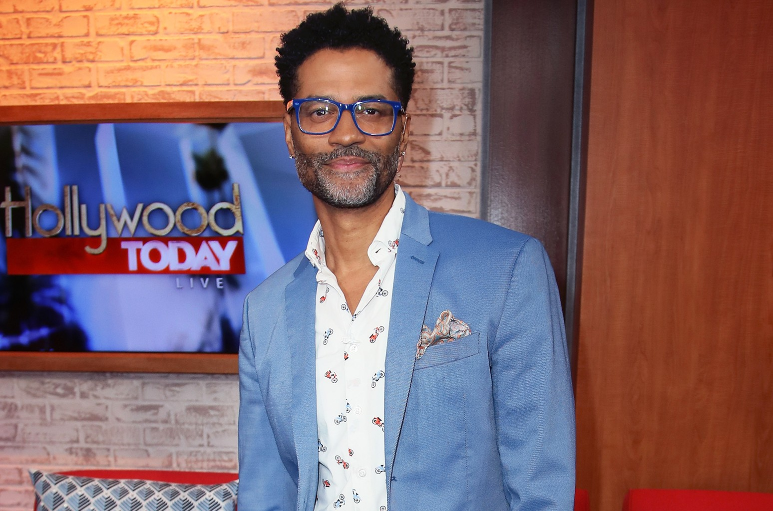 Eric Benet poses at Hollywood Today Live on Jan. 19, 2017 in Hollywood, Calif.
