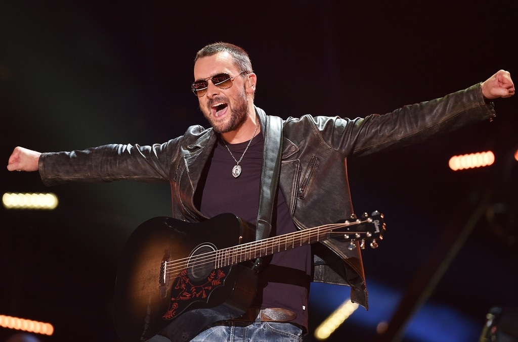 Eric Church performs in 2016