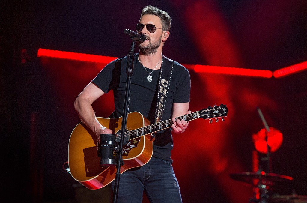 Eric Church performs during the 2017 CMA Music Festival on June 9, 2017 in Nashville, Tenn.