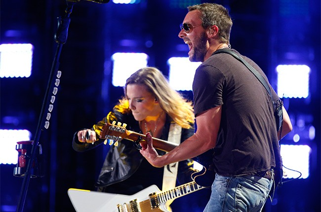 Eric Church & Lzzy Hale performs at CMA Music Festival