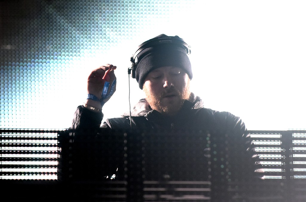 Eric Prydz performs during the Snowglobe Music Festival