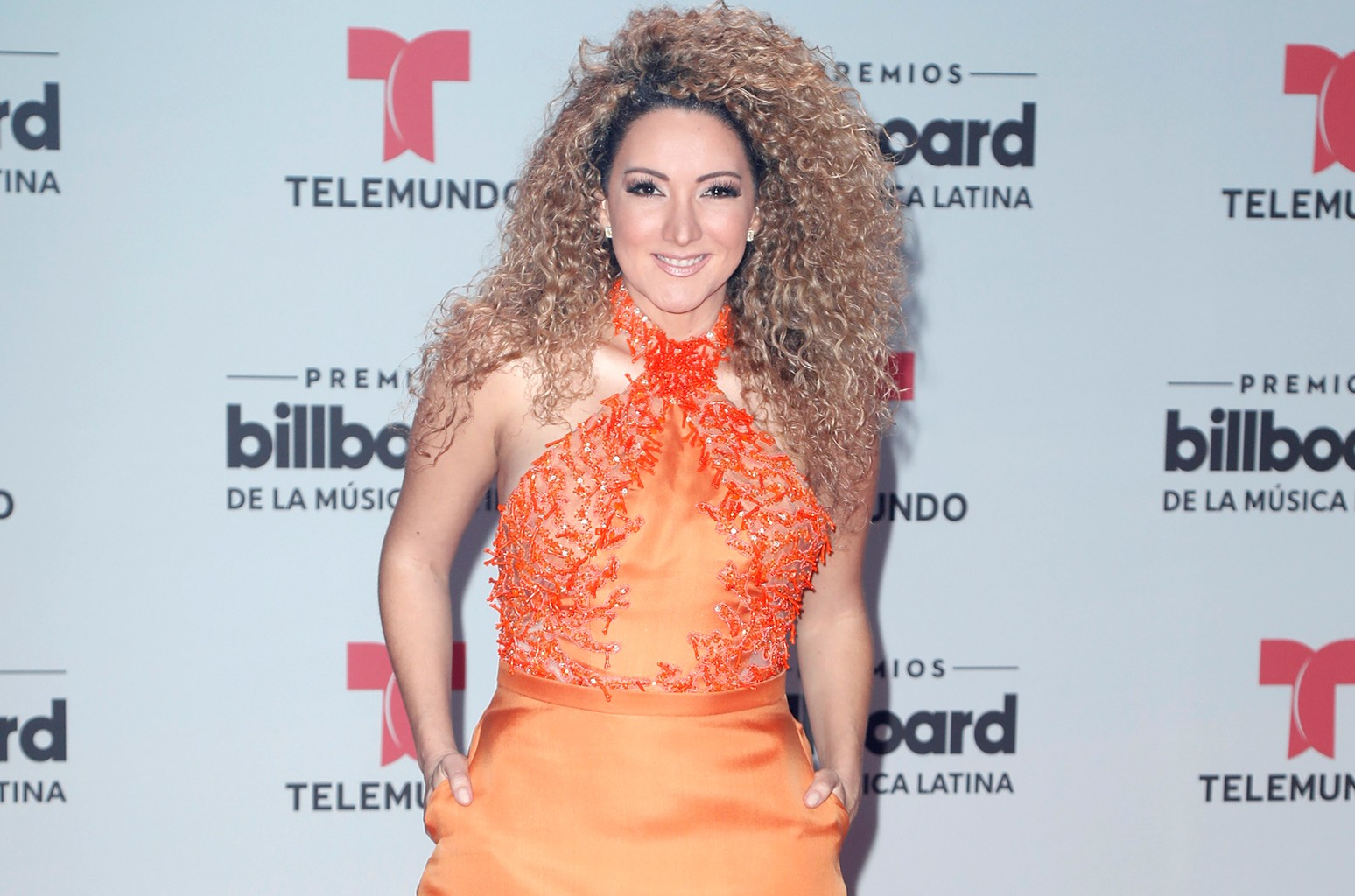 Erika Ender attends the Billboard Latin Music Awards at Watsco Center on April 27, 2017 in Coral Gables, Fla.