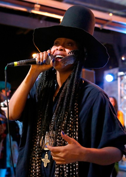 Erykah Badu aka DJ Lo Down Loretta Brown sxsw 2015