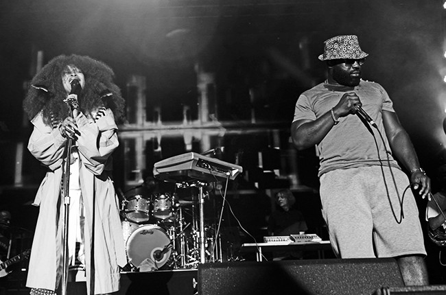 Erykah Badu and Black Thought
