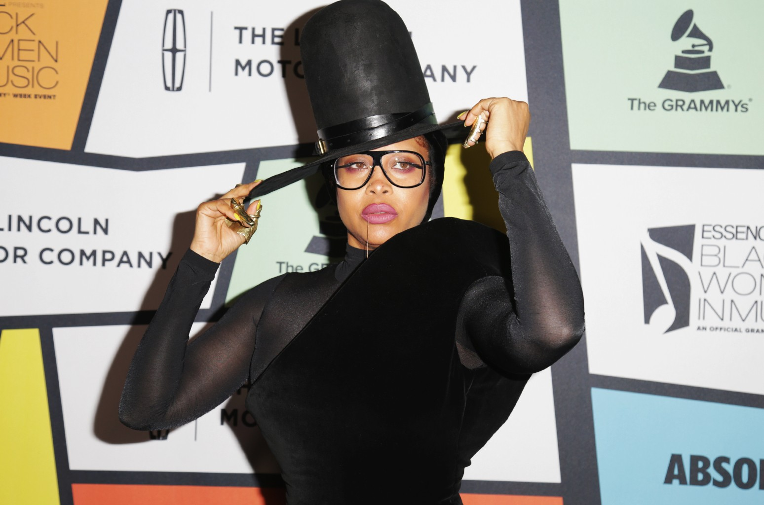 Erykah Badu attends 2017 Essence Black Women in Music at NeueHouse Hollywood on Feb. 9, 2017 in Los Angeles.