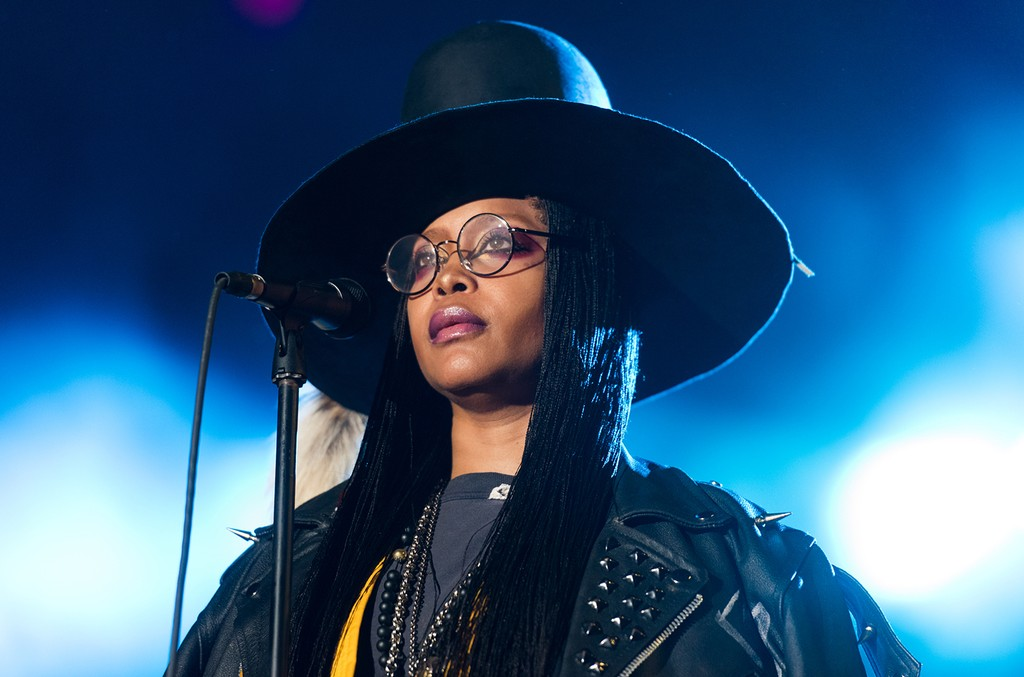Erykah Badu performs  during ONE Musicfest