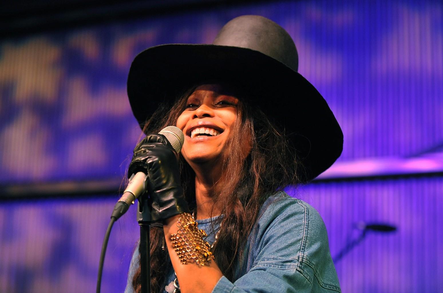 Erykah Badu performs in 2016