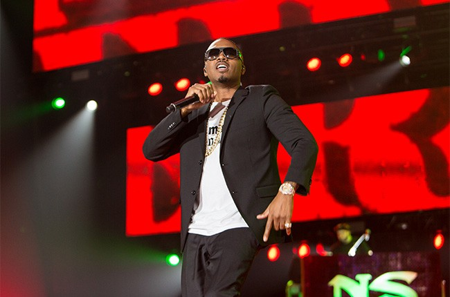Nas performs at the 2014 Essence Music Festival