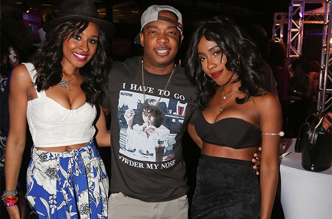 Janell Snowden, Ja Rule and Sevyn Streeter attend the 2014 Essence Music Festival