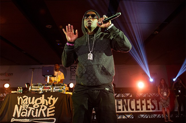 Naughty by Nature perform at the 2014 Essence Music Festival