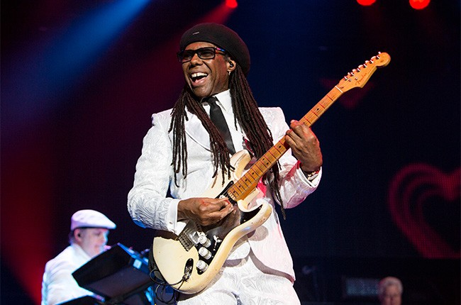 Nile Rodgers performs at the 2014 Essence Music Festival