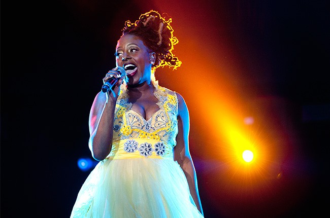 Ledisi performs at the 2014 Essence Music Festival