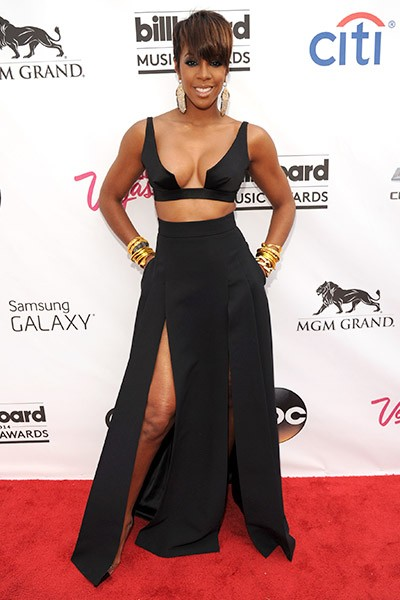 Kelly Rowland on the red carpet at the 2014 Billboard Music Awards