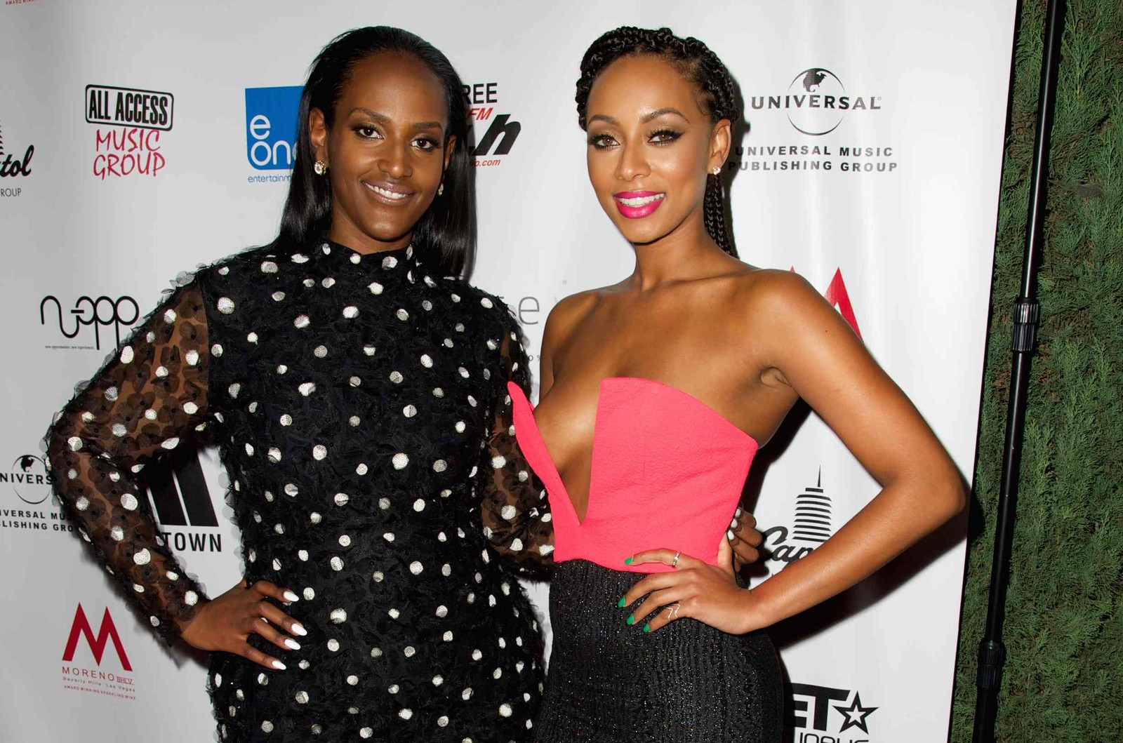 President/CEO of Motown Records Ethiopia Habtemariam and Keri Hilson attend Living Legends