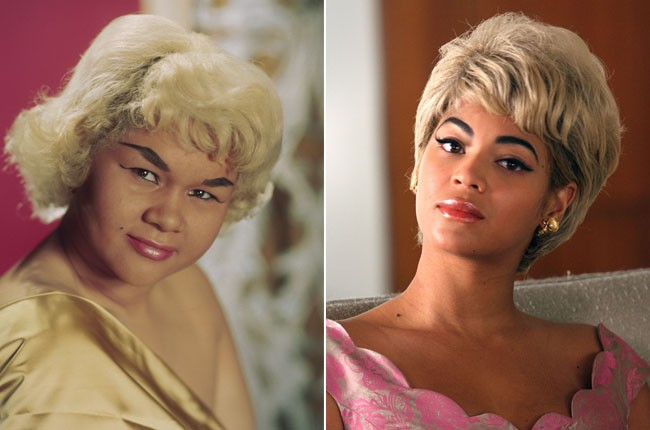 Etta James and Beyonce Knowles as Etta James
