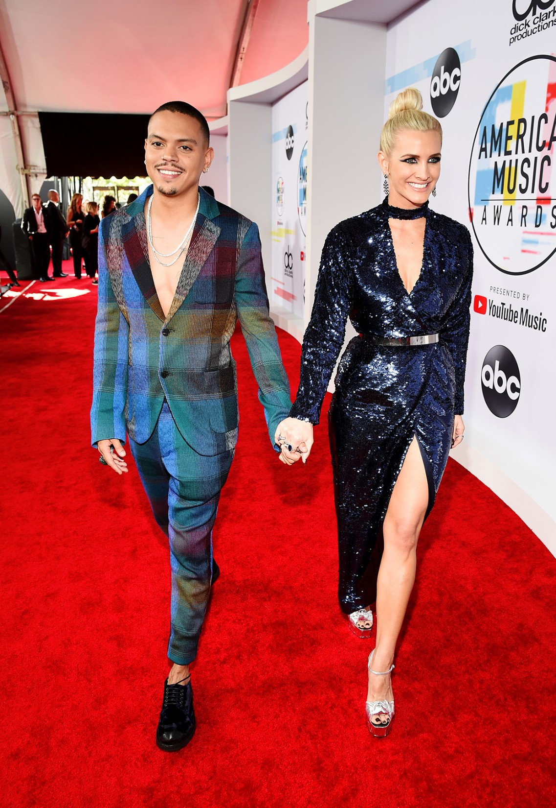 Evan Ross and Ashlee Simpson, American Music Awards