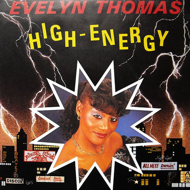 Evelyn Thomas, High Energy.