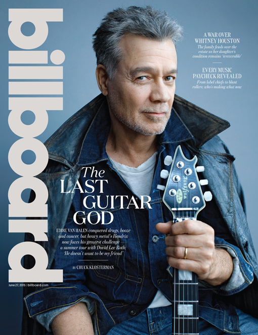 Billboard Cover Eddie Van Halen On Surviving Addiction Why He S Still Making Music And What He Really Thinks Of David Lee Roth And Other Past Van Halen Bandmates Billboard