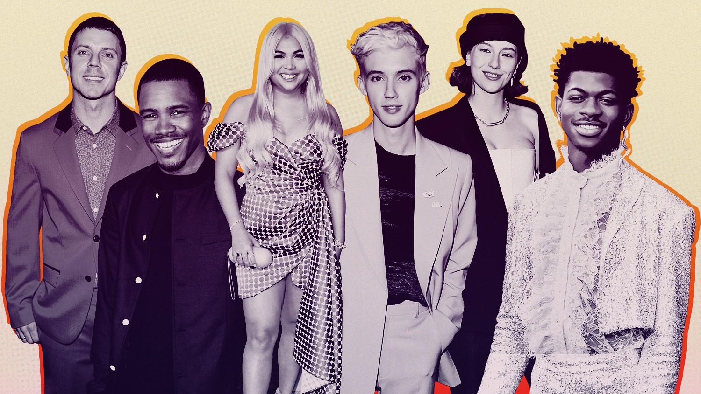 Jake Shears, Frank Ocean, Hayley Kiyoko, Troye Sivan, King Princess and Lil Nas X