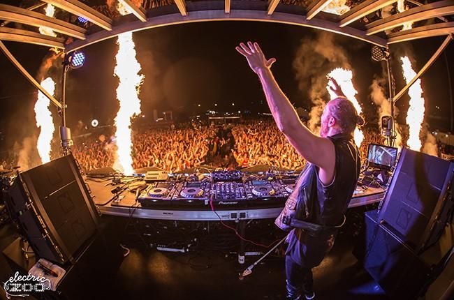 Electric Zoo 2014: David Guetta