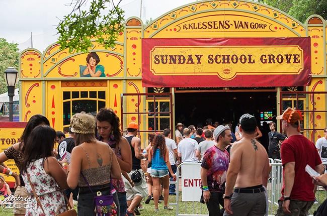 Electric Zoo 2014: Sunday School Groove