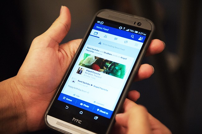 facebook phone app newsfeed