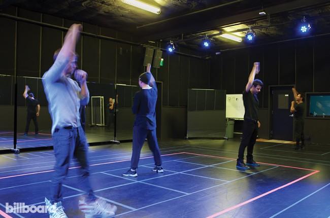 NKOTB Rehearse at Faculty