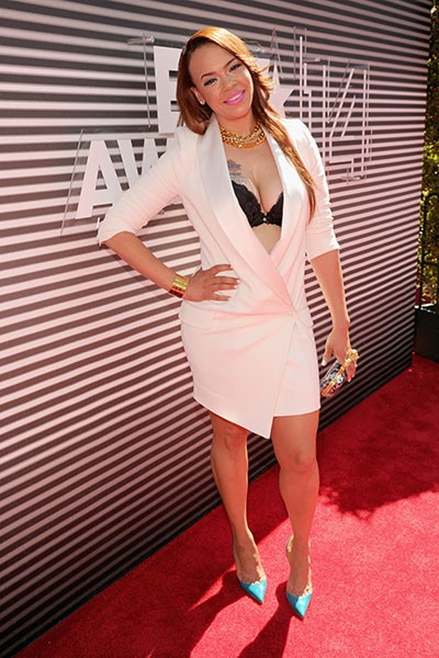 Faith Evans at the BET Awards