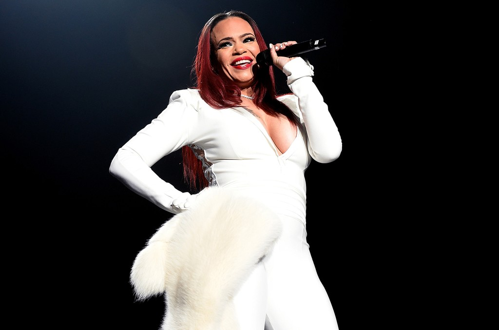 Faith Evans performs during the Bad Boy Family Reunion Tour at The Forum on Oct. 4, 2016 in Inglewood, Calif.