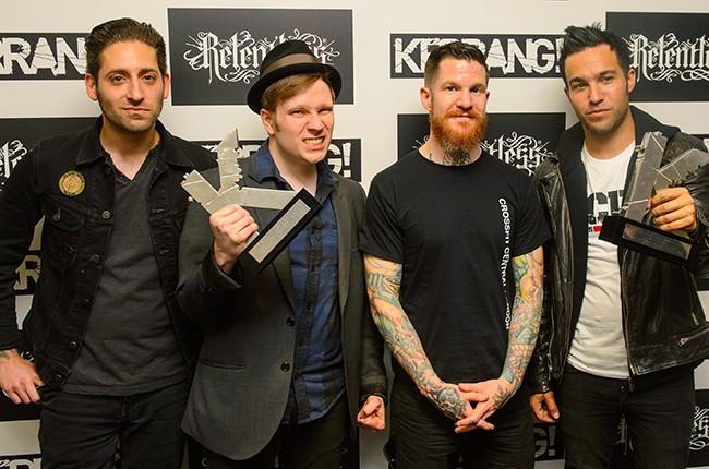 Fall Out Boy at the Kerrang Awards