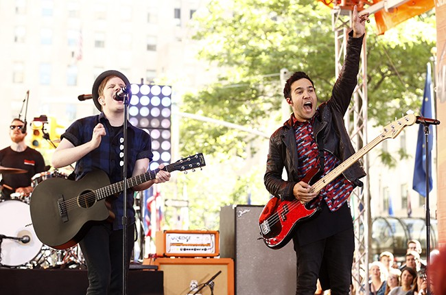 Fall Out Boy on the Today Show