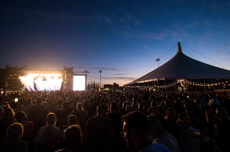 Falls Festival on January 7, 2018 in Fremantle, Australia.