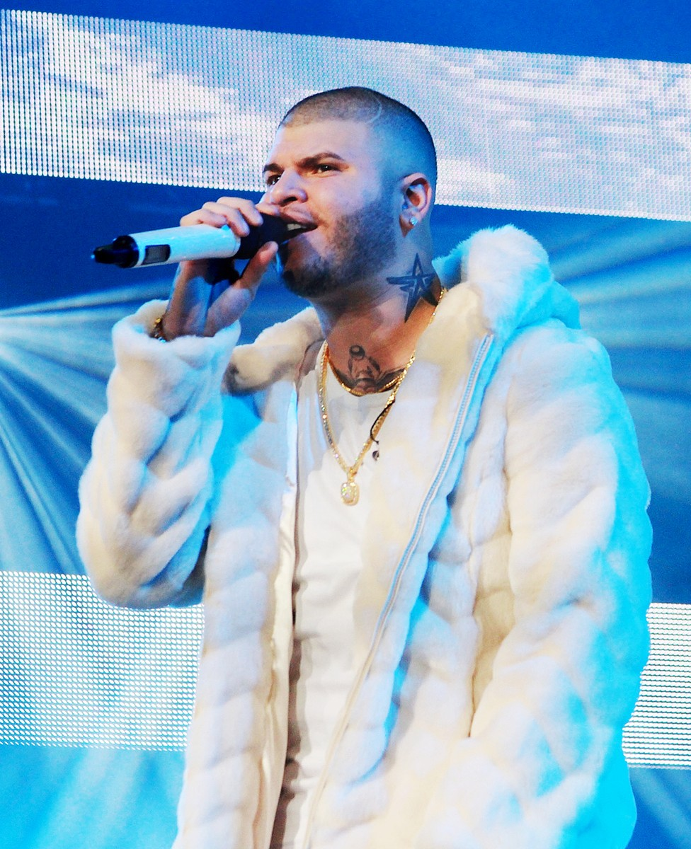"""Farruko performs at his """"Visionary World Tour"""" concert at Coliseo Jose M. Agrelot on Sept. 16, 2016 in San Juan, Puerto Rico."""