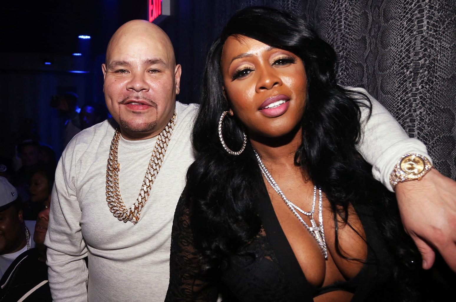 Fat Joe and Remy Ma