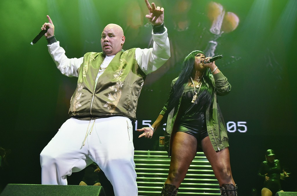 Fat Joe and Remy Ma perform during Power 105.1's Powerhouse 2016 at Barclays Center on Oct. 27, 2016 in New York City.