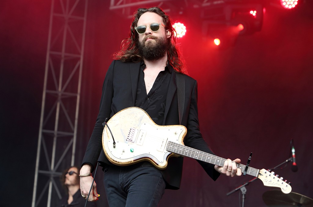 Father John Misty performs live on day 1 of Governors Ball festival at Randall's Island on June 3, 2016 in New York City.