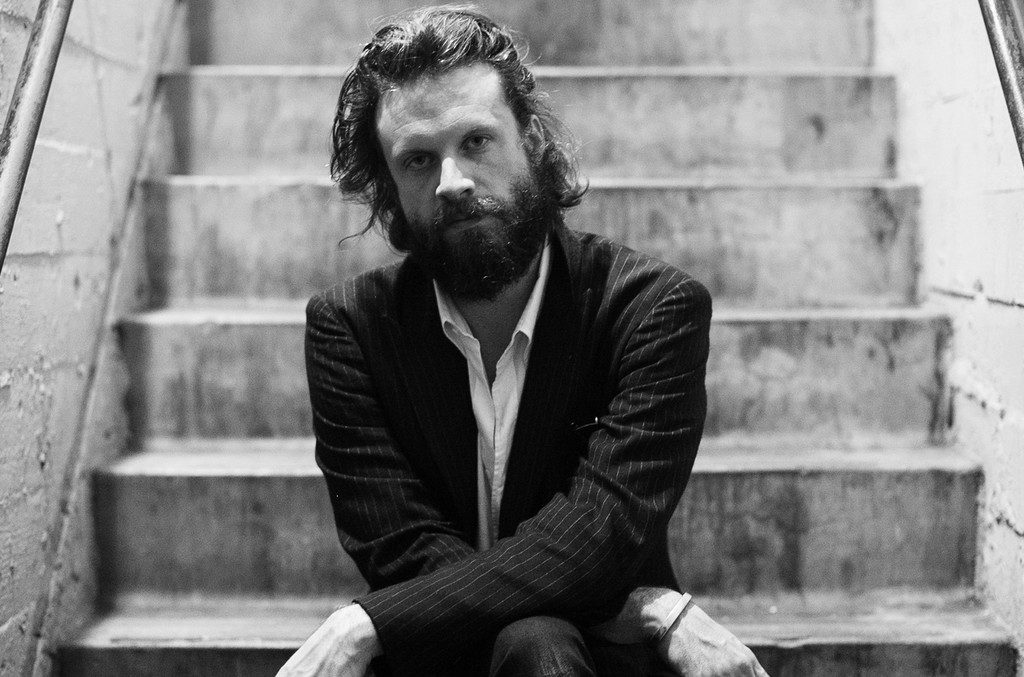 Father John Misty at The Theatre at Ace Hotel on Oct. 23, 2016 in Los Angeles.