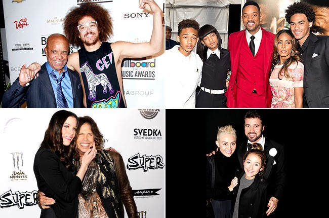 Famous Dads and Their Famous Kids