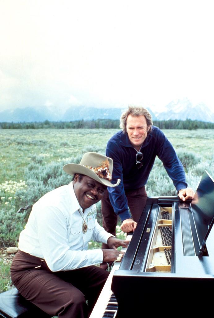 Fats Domino & Clint Eastwood, 1980