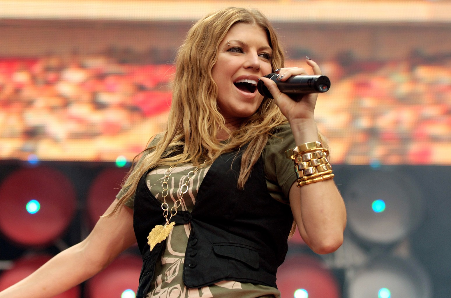 Fergie of Black Eyed Peas, 2007