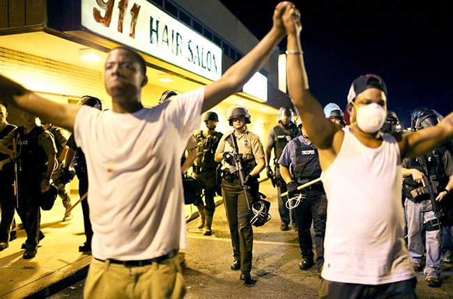 Ferguson Protests, 2014.