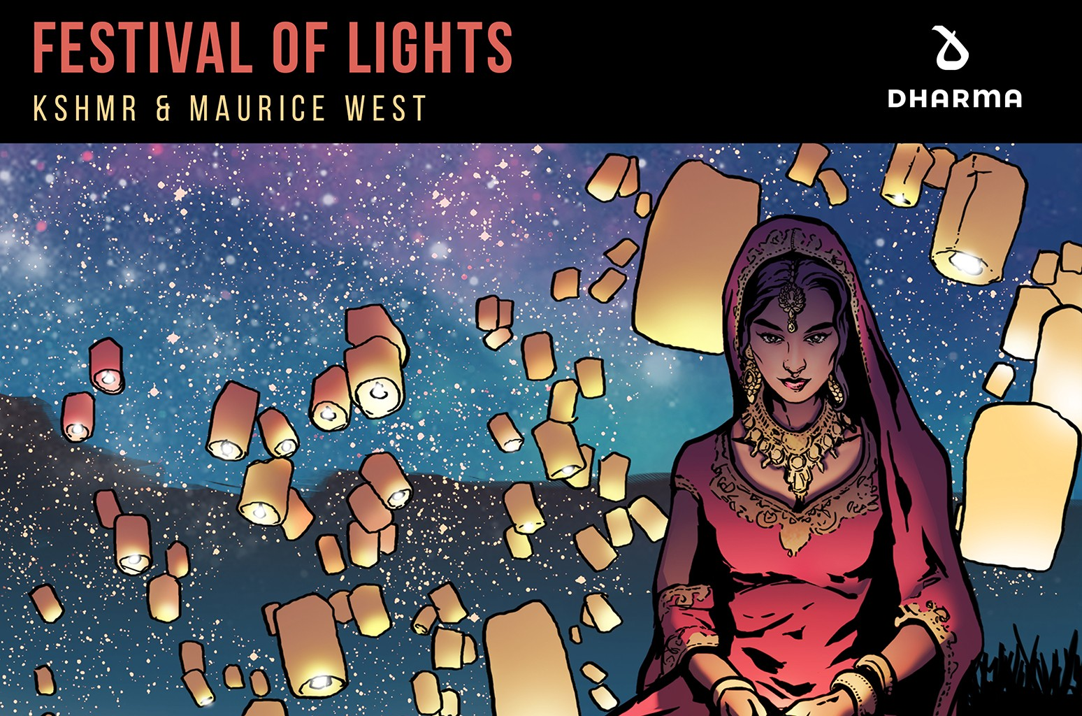 "KSHMR & Maurice West,  ""Festival Of Lights"""