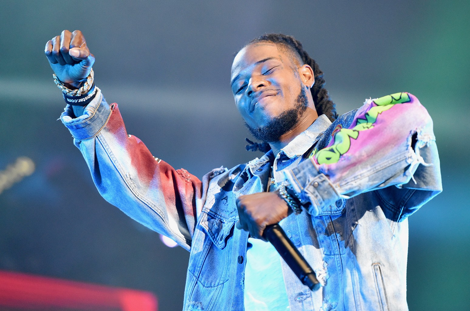 Fetty Wap during the 2016 BET Experience